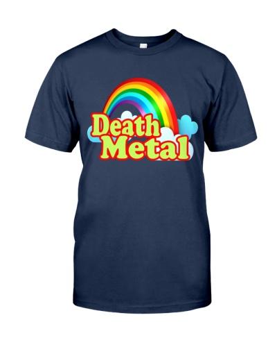 death metal rainbow t shirt