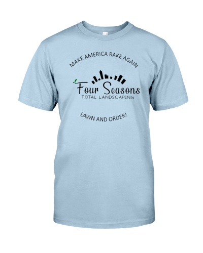 make america rake again 4 seasons landscaping shirt