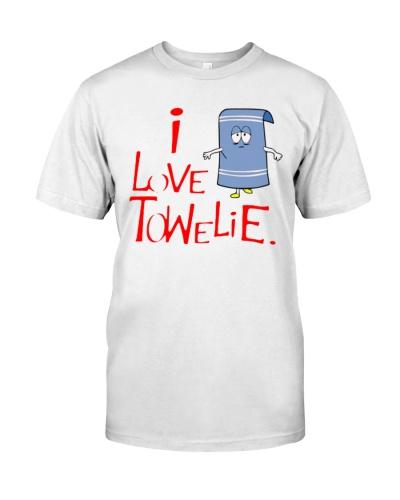 i love towelie t shirt south park