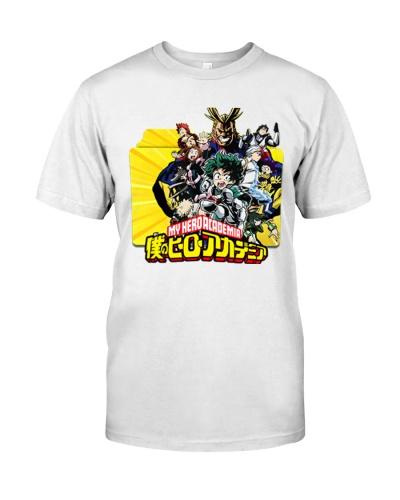 my hero academia shirt