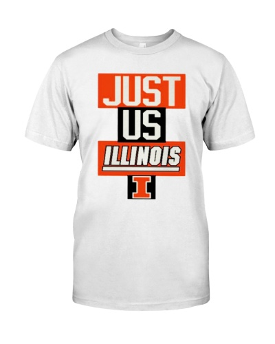 Illinois Fighting Illini just us Illinois shirt