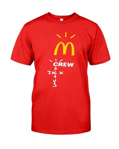 cactus jack mcdonalds shirt
