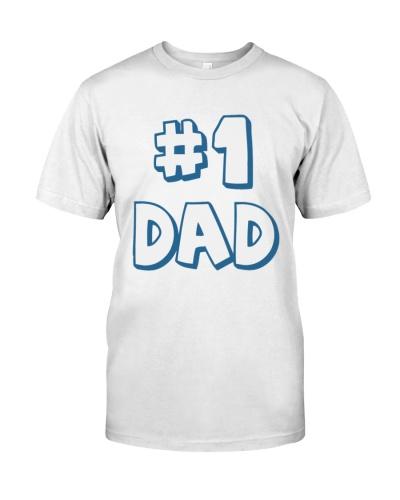 number one dad vintage shirt