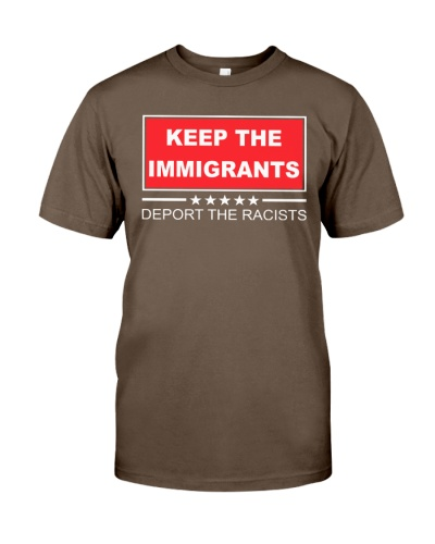 keep the immigrants shirt