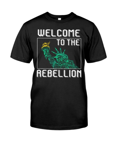 Welcome to the Rebellion Convervative AntiCancel Cultre Shirt