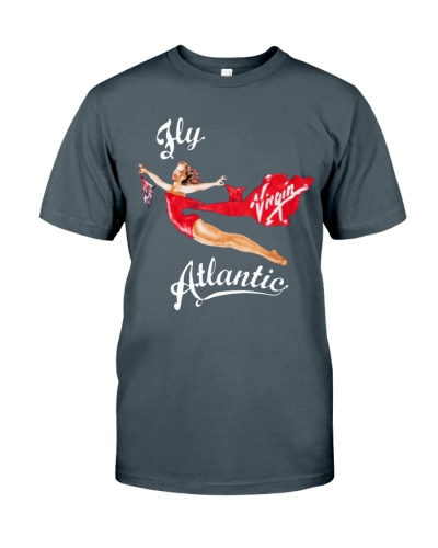 Princess Diana fly Virgin Atlantic shirt