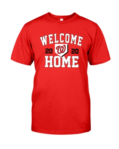 Washington Nationals Welcome Home Red 2020 Opening Day Shirt