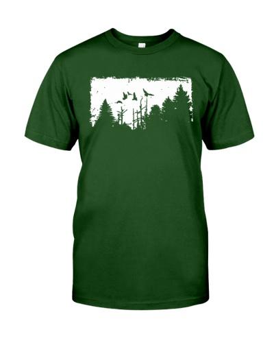 forest shirt hiking shirt adventure shirt