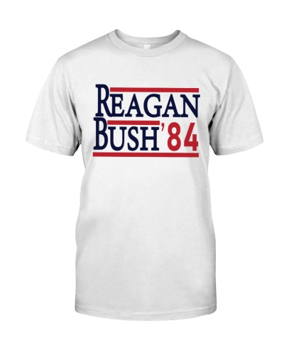 reagan bush 34 shirt