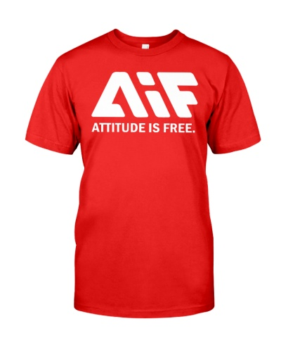attitude is frees t shirt