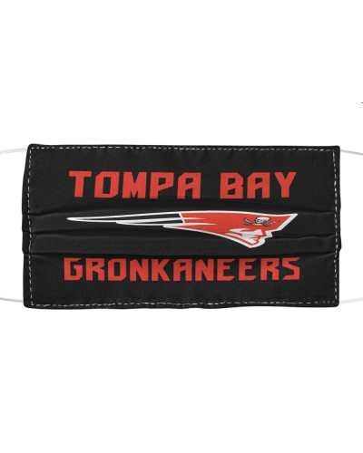 tompa bay gronkaneers cloth face mask