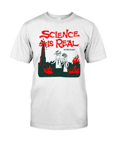 science is real shirt they might be giants
