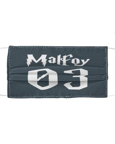 draco malfoy cloth face mask