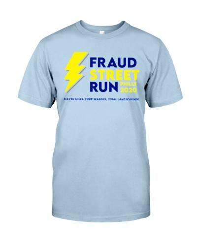 fraud street run 2020 shirt