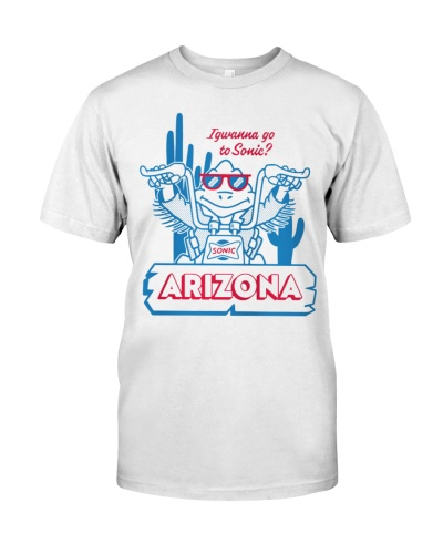 sonic arizona shirt
