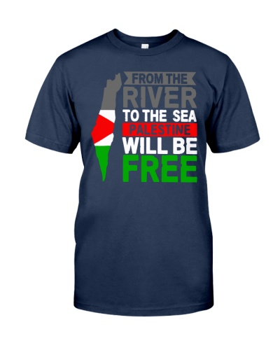 from the river to the sea palestine will be shirt