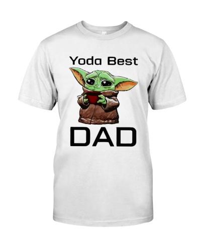 yoda best dad shirt
