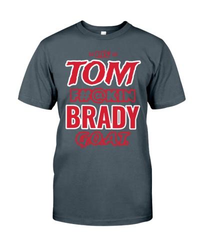Liv Tom Fuckin Brady Goat Shirt