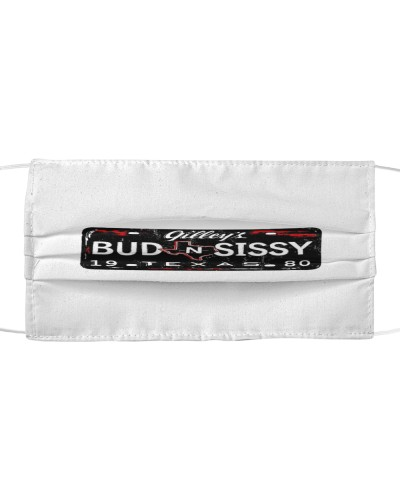 bud and sissy cloth face mask