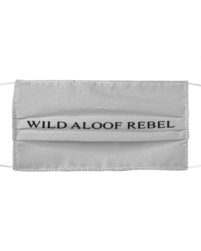 wild aloof rebel face mask