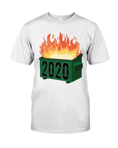2020 dumpster fire shirt meaning