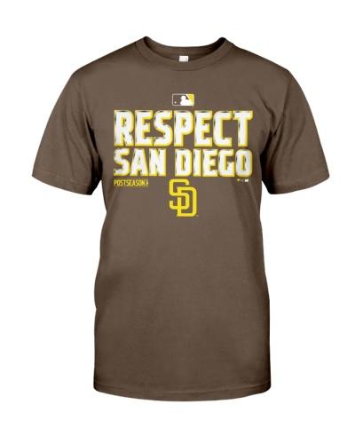 respect san diego padres shirt