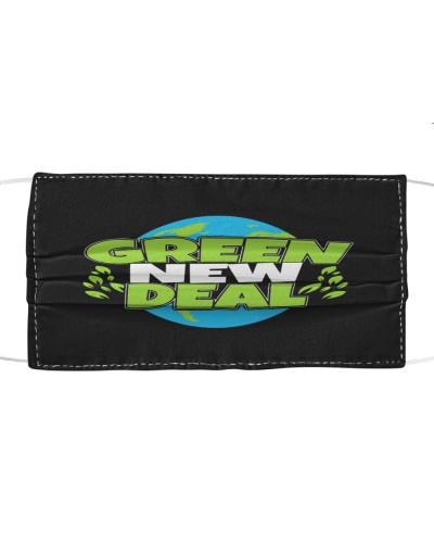 green new deal cloth face mask
