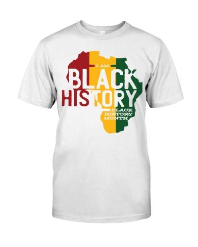 i am black history t shirts