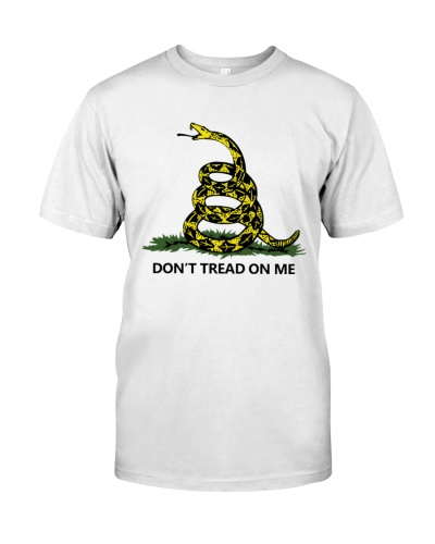dont tread on me merch shirt