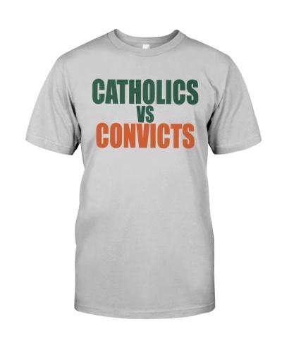 catholics vs convicts shirts