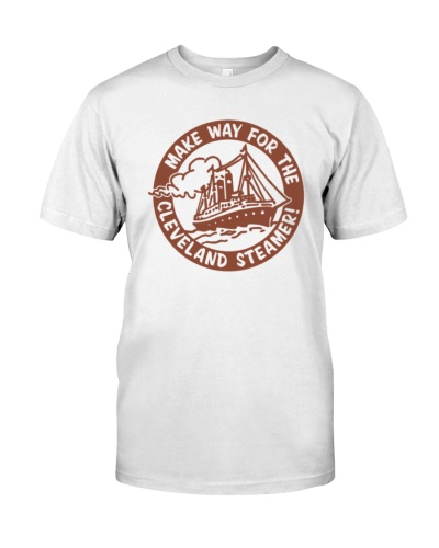 make way for the cleveland steamer shirt