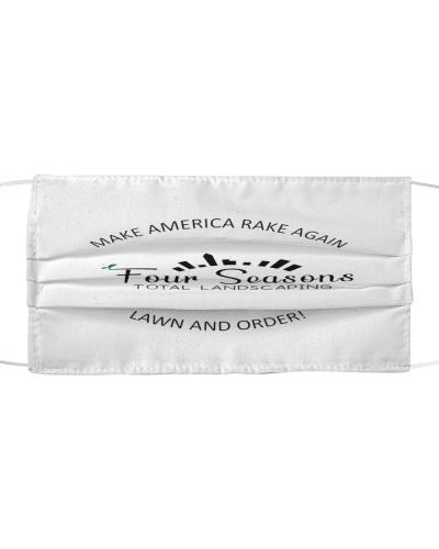 make america rake again cloth face mask