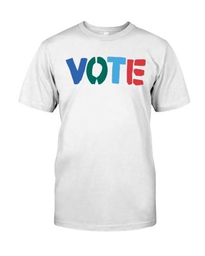 tory burch vote t shirt