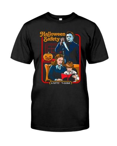 halloween safety michael myers shirt