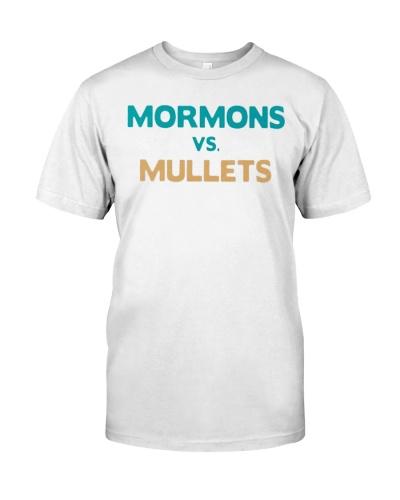 mormons vs mullets shirt