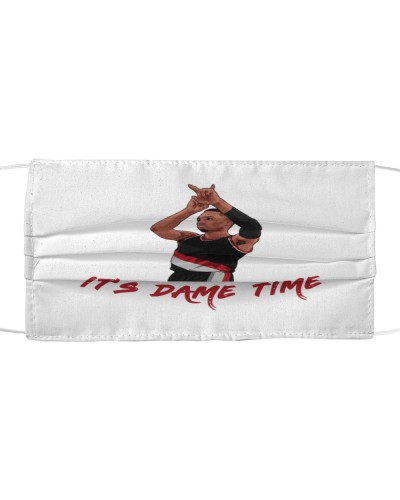 dame time cloth face mask