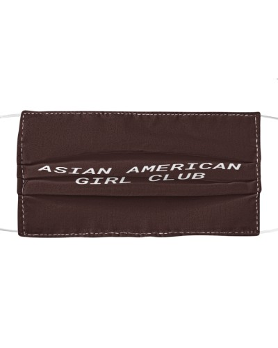 asian american girl club face mask