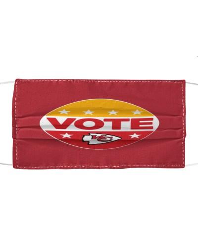 chiefs vote cloth face mask