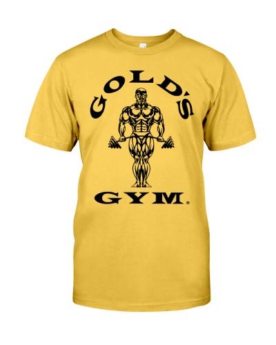 golds gym shirt