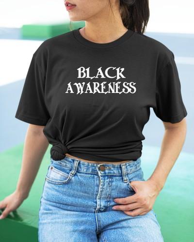 black awareness shirt