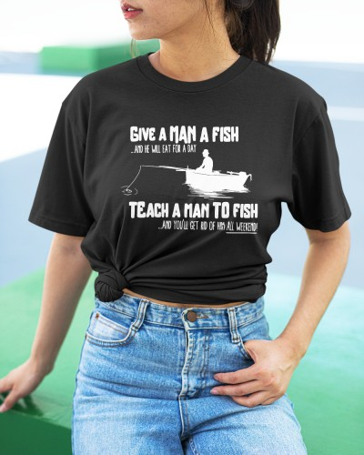 Gone For The Weekend Fishing Shirt
