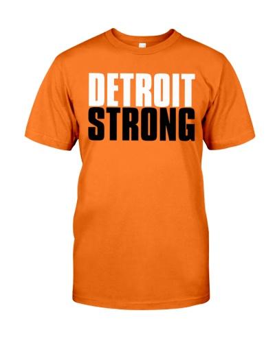 detroit strong shirt