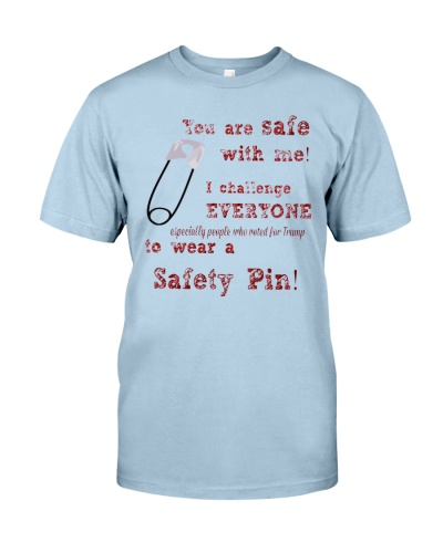 what does wearing a safety pin on your shirt mean