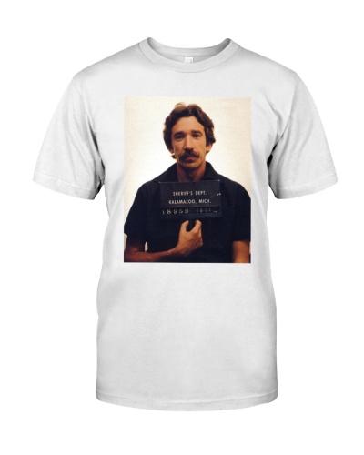 tim allen mugshot t shirt