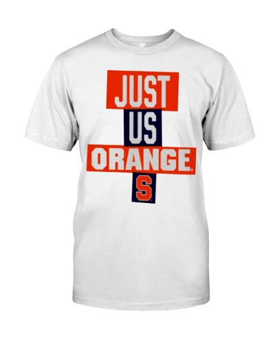 just us orange shirt