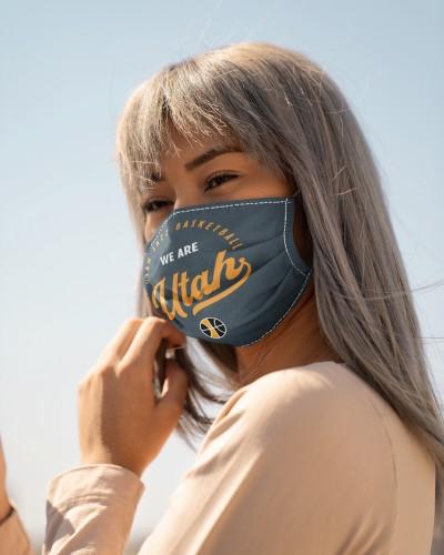 Utah Jazz We Are Utah Hometown face mask