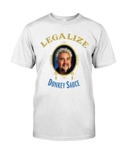 legalize donkey sauce shirt