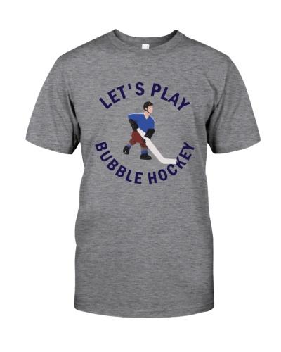 bubble hockey shirt