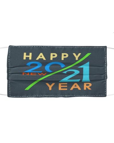 happy new year 2021 hello 2021 cloth face mask