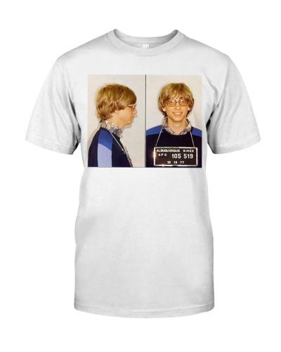 bill gates mugshot shirt